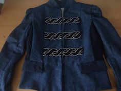 Sergeant Jacket Sewing Projects, Long Sleeve, Sleeves, Mens Tops, T Shirt, Jackets, Fashion, Supreme T Shirt, Down Jackets