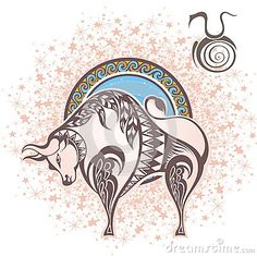 Taurus. Zodiac sign
