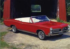The 1967 Pontiac GTO was the first muscle car.