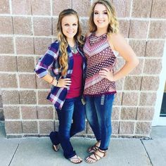 We wanted to give a warm welcome to our newest fashionistas to join our team! Say Hello to Taylor and Haylee! Look for them in the store because they have excellent style! Jefferson City, Join Our Team, Say Hello, Welcome, Fall Outfits, Warm, Blouse, My Style, Instagram Posts