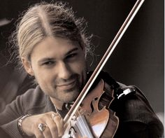flash of passion in his eyes when he was holding a violin in his hands... :)