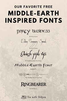 Tolkien-Inspired Fonts — Tea with Tolkien Hobbit Font, The Hobbit, Tolkien Quotes, Jrr Tolkien, Hobbit Party, Sherlock Quotes, Sherlock John, Sherlock Holmes, Party Rings