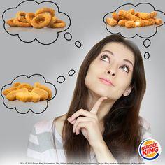Burger King®'de menünüzün yanına hangi çıtır lezzeti alırsınız? :) http://bit.ly/1J799wk
