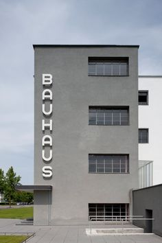 To continue our Bauhaus 100 series, we take a look at the Bauhaus school building in Dessau, Germany, designed by Walter Gropius. Bauhaus Art, Bauhaus Style, Bauhaus Design, Walter Gropius, Bauhaus Interior, Facade Architecture, School Architecture, Classical Architecture, Bauhaus Building