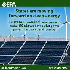 Our #CleanPowerPlan will build on the work states are already doing to grow renewable energy. #ActOnClimate