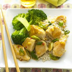 General Tso's Chicken. Just 414 calories - compared to 1,300 in restaurants!