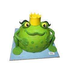 τούρτες γενεθλίων :: τούρτες για αγόρια :: ΒΑΤΡΑΧΟΣ ΚΟΡΩΝΑ 3D