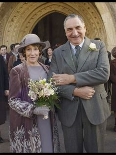 The Carsons ~ Downton Abbey Series 6