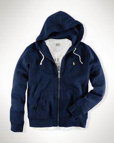 Fleece Full-Zip Hoodie Sweatshirts - RalphLauren.com