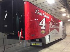 NASCAR  2014 NASCAR Sprint Cup Series #4 Paint Schemes for hauler.