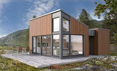 Tinn modern by Norgeshus Kingston, Home Fashion, Tiny House, House Plans, Shed, House Design, Outdoor Structures, Architecture, House Styles
