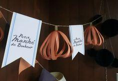プティ・マルシェ・ド・ボナール''小さな幸せ市場'' ハロウィン飾り付け用に