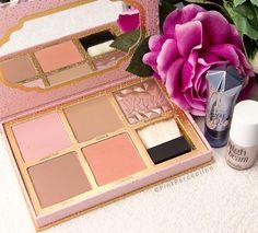 Benefit Cosmetics 'Cheekathon' Bronzer and Blush Palette  also 'High Beam' & 'Watt's Up!' @pinkperception