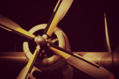 Vintage Airplane Propeller Print Plane by KimberosePhotography, $15.00