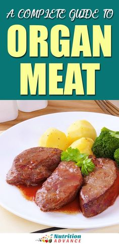 Organ Meats are some of the most nutritious foods you can eat. This article lists 10 healthy organ meat options and examines their benefits. Healthy Meats, Most Nutritious Foods, Healthy Diet Recipes, Whole Food Recipes, Keto Recipes, Healthy Eating, Game Recipes, Paleo Diet, Desserts Keto