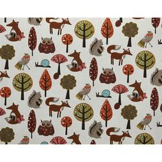 Fabric with animals. Stof Gaby Kwantum.