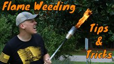 Sutton Vlog - Tips and Tricks for Flame Weeding (Red Dragon) Get Rid Of Dandelions, Weeding Tips, Killing Weeds, Organic Weed Control, Creative Landscape, Living Off The Land, Red Dragon, Garden Gifts, Go Outside