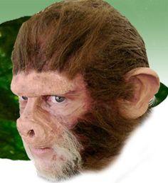 Wizafir Chimp Ape Monkey Cosplay LARP Halloween by CottageEmporium, $12.99