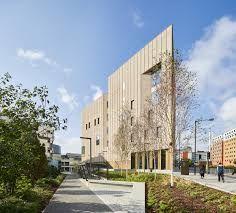Image 1 of 20 from gallery of Royal Birmingham Conservatoire / Feilden Clegg Bradley Studios. Photograph by Hufton+Crow Amazing Architecture, Architecture Design, Birmingham City University, Cinema Theatre, West Midlands, Brickwork, Photo Studio, Facade, Exterior