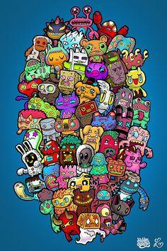 Hidden Doodles Game by Lei Melendres