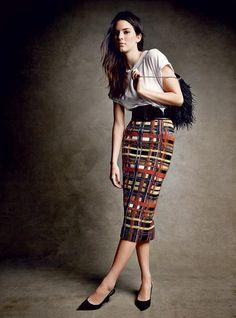 #KendallJenner by #PatrickDemarchelier for #VogueUS December 2014