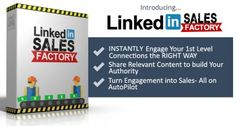 Manage your time to MAXIMIZE your INCOME with LinkedIn Sales Factory!