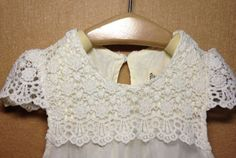 Flower Girl Summer Dress Vintage Beige Party Lace dress Toddler Dress 2-7 Years | eBay