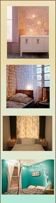 Fun Lights In Bedrooms I Really Like The 3 One Down