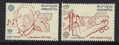 Spain 1985 - Postage Stamps of EUROPA85: