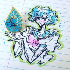 We are absolutely in love with @mooniebrandon s amazing depiction of Sailor Mercury with our Mizuno Soul pin! His style is so stylish and unique! - We love seeing our pins out in the wild so please continue to tag us in your #pinmail shots and maybe youll be featured on the our feed/story too! - Mizuno Soul pins are still available in our shop! Hit the link in our bio or hit up http://ift.tt/2psKVYq . . . . .  #soulpiecelabs #mizunosoul #sailormoon #usagitsukino #pgsm #moonie #moonies…