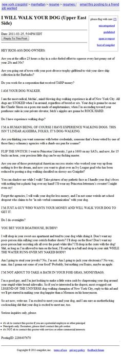 ....I wish I had the guts to write a cover letter like this. Ha!