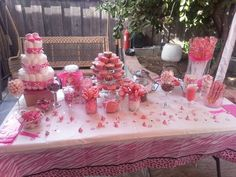 baby shower buffet table decorations | ... Baby Show, Baby Showers Candy, Candy Buffets Ideas Baby Show, Showers