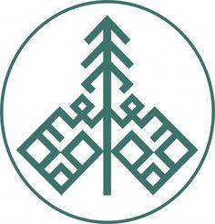 Ель - символ финно-угорского мира. | Зимний символ республики Коми