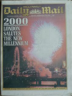 """1999: UK to celebrate millennium.The scale of the celebrations ranges from large organised events, to street parties. Britain's capital the home of time, eyes turn to the Queen's official opening of the £758m Millennium Dome, in Greenwich, south London. At midnight, a 60m high """"River of Fire"""", created by pyrotechnic candles, will light up along the Thames in 10.8 seconds - as fast as the earth rotated into a new age."""