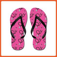 05584b61ccf3e7 CafePress - Nurse Pink Nursing - Flip Flops
