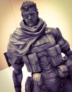 Hideo Kojima checked up on the figurines for MGSV. Looking pretty good! Will you be picking these up once made available?   (No price yet)