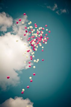 and at my funeral carry one balloon~to float up toward the heavens~for there I shall look down and smile really big~one more time~