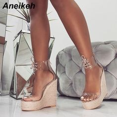 Cheap High Heels, Black High Heels, High Heel Pumps, Pump Shoes, Wedge Heels, Shoes Heels, Gold Heels, Aldo Shoes, Heeled Sandals