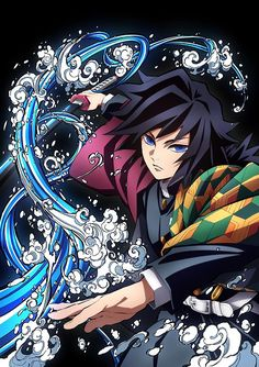 Tomioka Giyuu - Kimetsu no Yaiba - Image - Zerochan Anime Image Board Anime Meme, Otaku Anime, Anime Guys, Manga Anime, Anime Art, Manga Girl, Cool Anime Wallpapers, Animes Wallpapers, Demon Slayer
