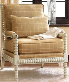 The Custom Bobbin Chair Can Be Tailored To Suit Your Individual Style.
