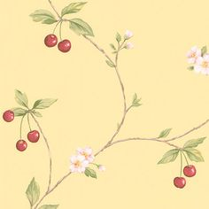 Shop our selection of wallpaper, borders and murals. A wide variety of discount wall coverings and wall art are available at Steve's Blinds & Wallpaper! Kitchen Wallpaper, Love Wallpaper, Colorful Wallpaper, Designer Wallpaper, Discount Wallpaper, Wallpaper Calculator, Romantic Homes, Wall Decals, Vines