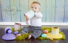 Easter ~  Photography Photo Prop, Easter egg, Egg paint set, Easter eggs.Photo prop,Eggs,Photography prop