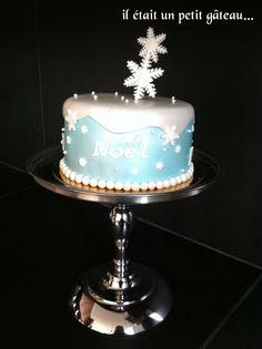 gteau nol hiver flocon cake winter snow