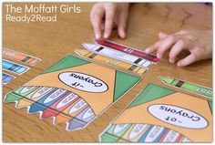 Word Family Word Sort with the -it and -ot crayons!  So many FUN and engaging activities to teach kids how to READ! Ready2Read