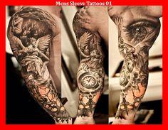 Mens Sleeve Tattoos 01