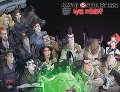 Cover to Ghostbusters #20 by Dan Schoening (FINAL ISSUE)