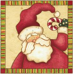 Moldes e Massas: Pai Natal para Decoupage
