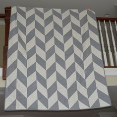 Herringbone quilt-- a gift for my sister & brother-in-law | Flickr - Photo Sharing!