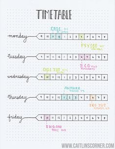 Bullet Journaling For Students: Grade Tracker, Essay Planner & Study Log