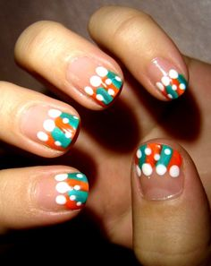 Trendy Look Nail Designs Ideas for Short Nails